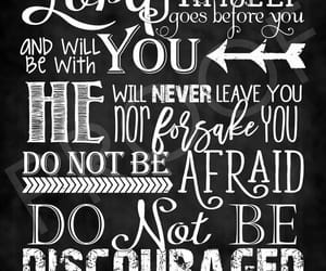 bible, chalkboard art, and do not be afraid image