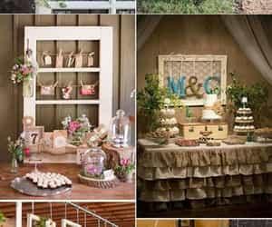 decoracion, wedding, and weddingday image
