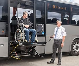 wheelchair lift image