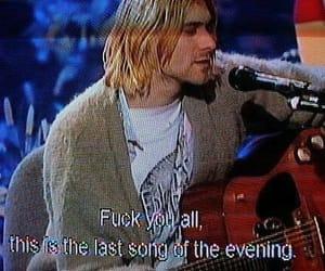 bands, cobain, and grunge image