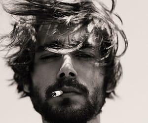 boy, cigarette, and man image