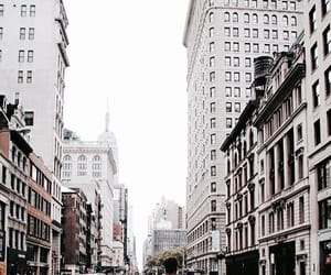 city, aesthetic, and white image