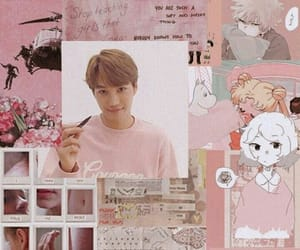 exo, wallpaper, and kai image