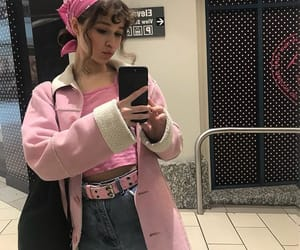aesthetic, pink, and clothes image