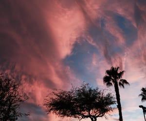 clouds, landscape, and Las Vegas image