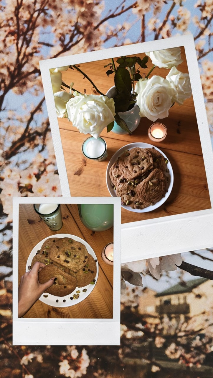 article, chocolate, and chocolate chip cookies image