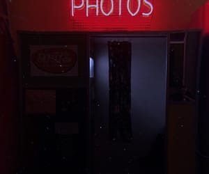 aesthetic, booth, and neon image