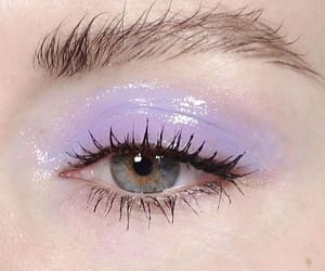 purple and eye image