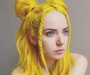 color, tumblr, and hair image