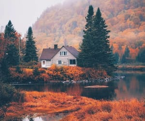 autumn, mountain, and nature image