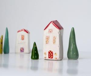 ceramics, etsy, and fairy house image
