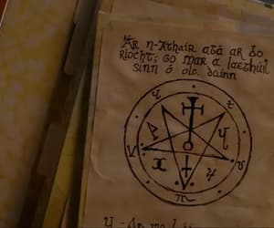 black magic, evil, and supernatural image