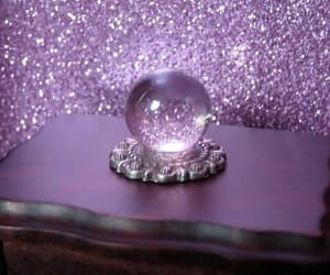 purple, glitter, and magic image