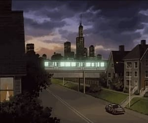 city, train, and gif image