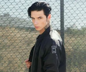 model, andy biersack, and new image