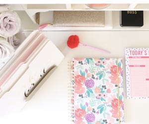 article, inspiration, and school supplies image