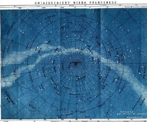 stars, blue, and constellations image