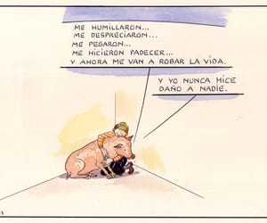 Animales, pig, and triste image