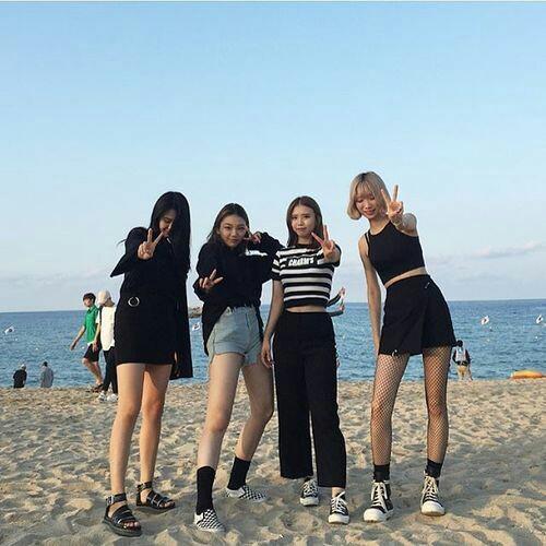 japan, korean fashion, and kpop image
