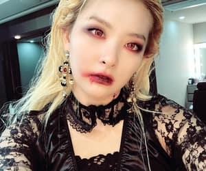 vampire costume, seulgi, and kang seul gi image