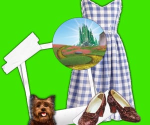 dorothy, green, and Oz image