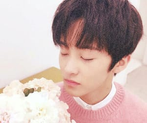 mark, nct, and flowers image