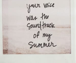 summer, love, and voice image