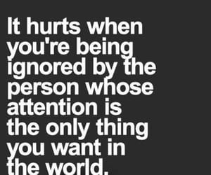 attention, hurt, and me image