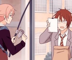 anime, gif, and funny image