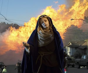 aesthetic, fear, and fire image