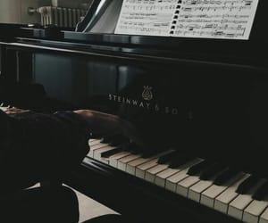 aesthetic, photography, and piano image