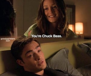 gossip girl, chuck bass, and blair waldorf image