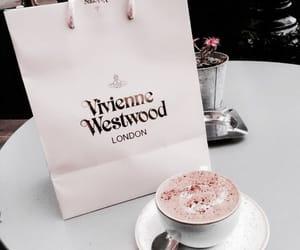 coffee, pink, and vivienne westwood image