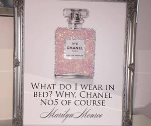 chanel, Marilyn Monroe, and perfume image