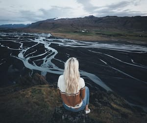 freedom, nature, and girl image
