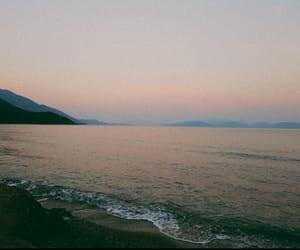 beach, beautiful, and nature image