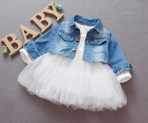 baby, dresses, and girls image