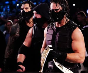 wrestling, the shield, and dean ambrose image