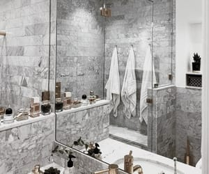 apartment, bath, and beauty image