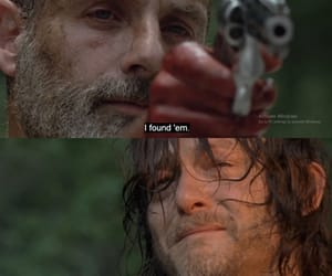 norman reedus, amc, and andrew lincoln image