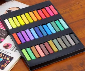 gift idea, christmas gift idea, and hair chalk set image