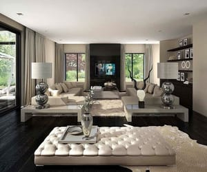 house, livingroom, and luxury image