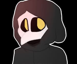gif, scp foundation, and scp-049 image