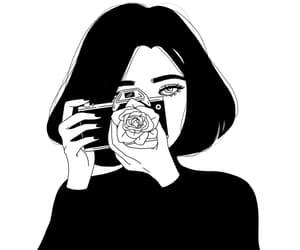 alternative, art, and black & white image