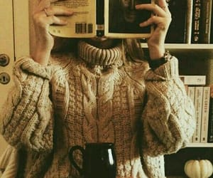 aesthetic, sweater, and self care image