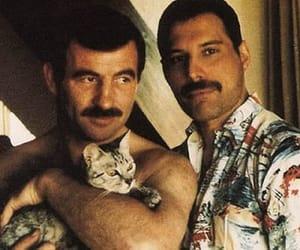 Freddie Mercury and jim hutton image