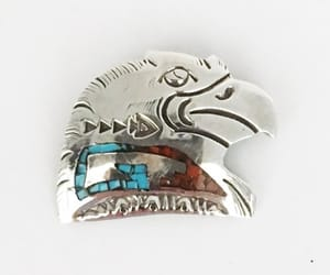 etsy, turquoise coral, and native american image