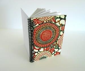 etsy, blank notebook, and spiral sketchbook image