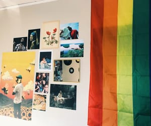 artsy, bedroom, and gay image