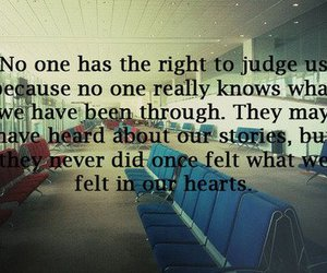 quote, text, and judge image